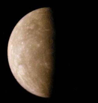 Mercury in shadow