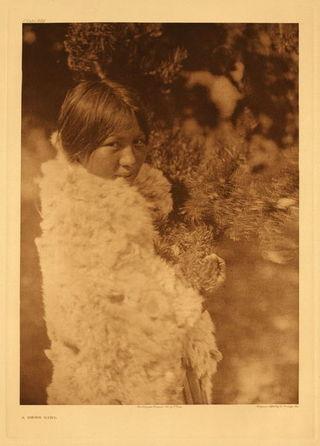 Cree girl