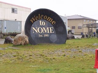 Nome sign