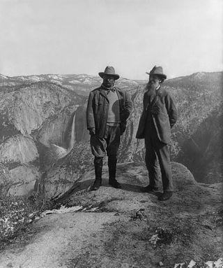 Roosevelt and muir