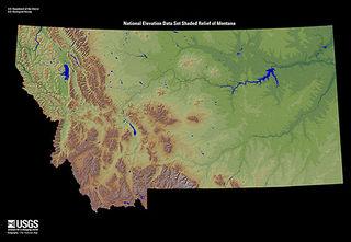Montana terrain